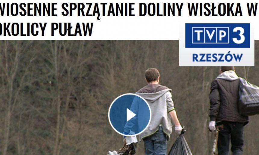 Fundacja Latarnia bierze udział w sprzątaniu Wisłoka,