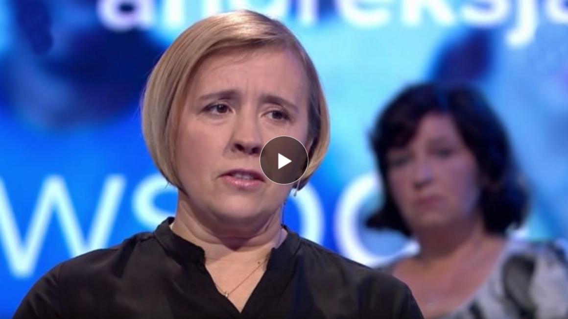 Kasia Szwed w programie Ocaleni